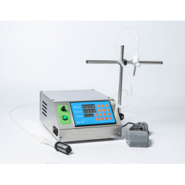 Félautomata folyadéktöltő gép, töltő gép – 0.5 ml – 500 ml – 1 fúvókával