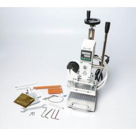 Kézi prégelő, melegfóliázó (hot stamping) gép
