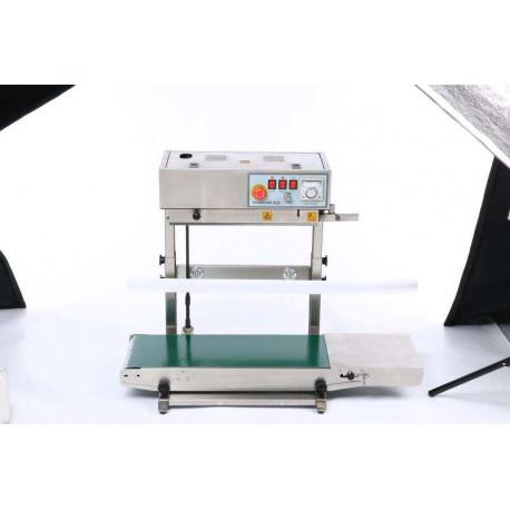 Folyamatos futószalagos vertikális fóliahegesztő, 600W