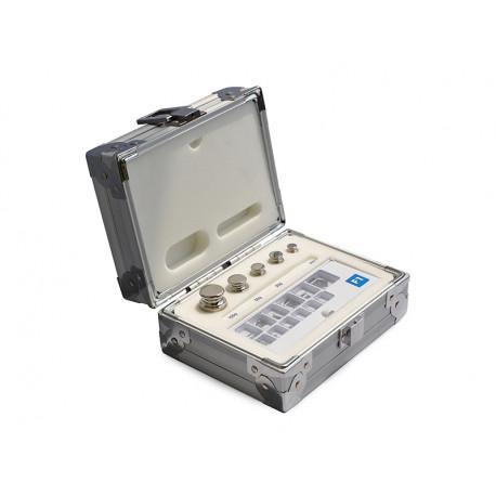 Kalibráló súlysorozat, OIML, F1 osztály, 1-500g