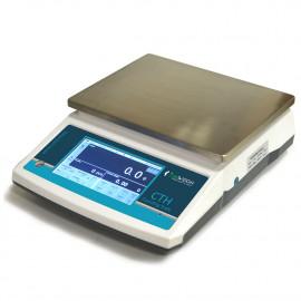 Precíziós darabszámláló mérleg, 30kg/1g