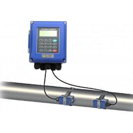 Ultrahangos áramlásmérő, átfolyásmérő, TS-2, felcsatolható, DN100
