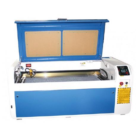 50/60/80/100/130/150W teljesítményű CO2 lézergravírozó gép, 1000x400 mm - ELŐRENDELHETŐ