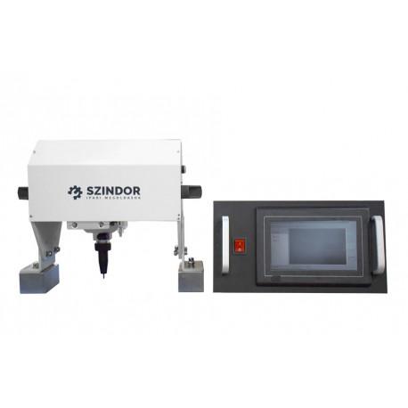 Pontütéses jelölő, fémjelölő, gravírozó érintőképernyővel - 135x20 mm