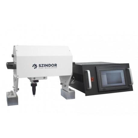 Pontütéses jelölő, fémjelölő, gravírozó érintőképernyővel - 150x100 mm