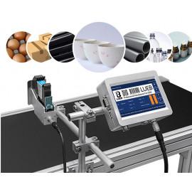 Online tintasugaras nyomtató, tintasugaras jelölő futószalaggal