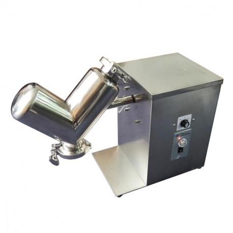 V-porkeverő gép, laboratóriumi mixer - 2l