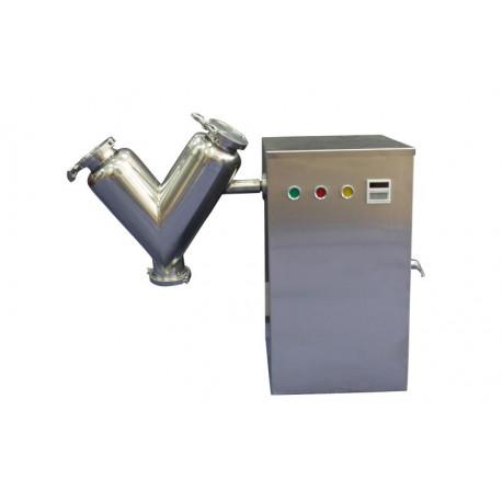 V-porkeverő gép, laboratóriumi mixer - 5l