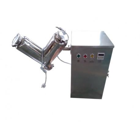 V-porkeverő gép, laboratóriumi mixer - 8l