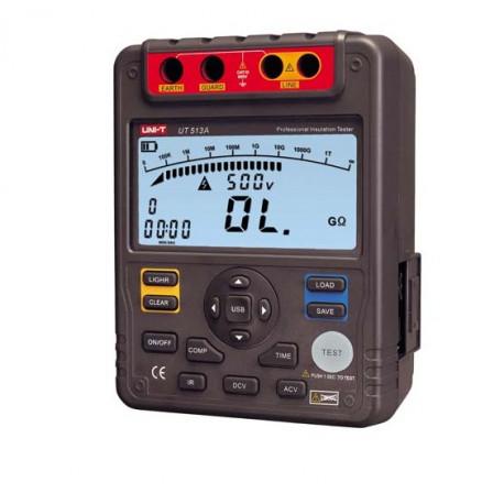 Szigetelés ellenállás mérő - UT513A