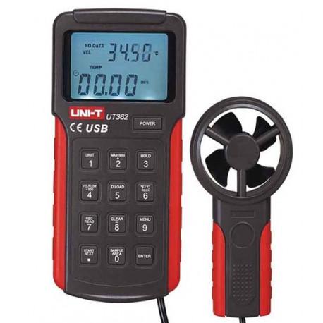 Légsebességmérő, anemométer - UT362