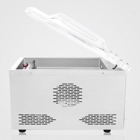 Kamrás vákuumcsomagoló gép – 120W teljesítménnyel