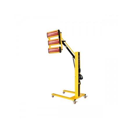 Infravörös festékszárító, infravörös szárítólámpa - 3300 W - 3 lámpa