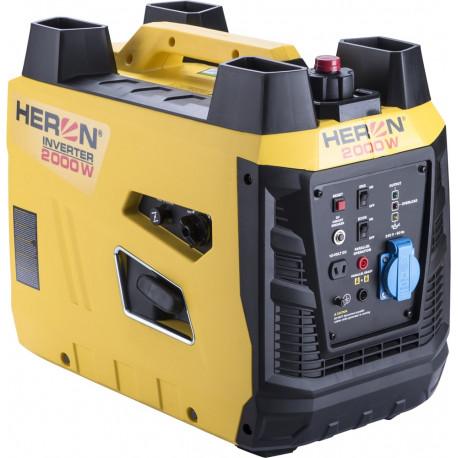 Heron benzinmotoros áramfejlesztő, aggregátor, 2 kVA, 230V, digitális szabályzás
