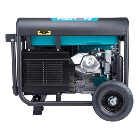 Heron benzinmotoros áramfejlesztő, aggregátor, 6kVA, háromfázisú, önindítós