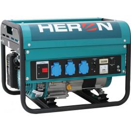 Heron benzinmotoros áramfejlesztő, aggregátor, 2,3kVA, egyfázisú (EGM-25 AVR)