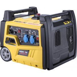 Heron benzinmotoros áramfejlesztő, aggregátor, 3 kVA, 230V, egyfázisú, inverteres