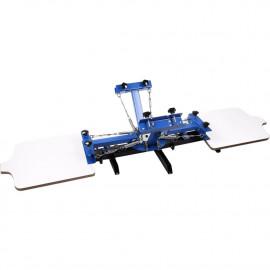 Kézi szitanyomó gép, textilnyomó karusszel - NS402