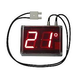 Nagyképernyős nedvességmérő, hőmérsékletmérő - PCE-G1