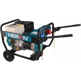 Heron benzinmotoros áramfejlesztő, 6800 VA, 400/230 V, hordozható (EGI 68-3)