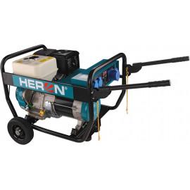Heron benzinmotoros áramfejlesztő, 6800 VA, 230 V, hordozható (EGI 68)