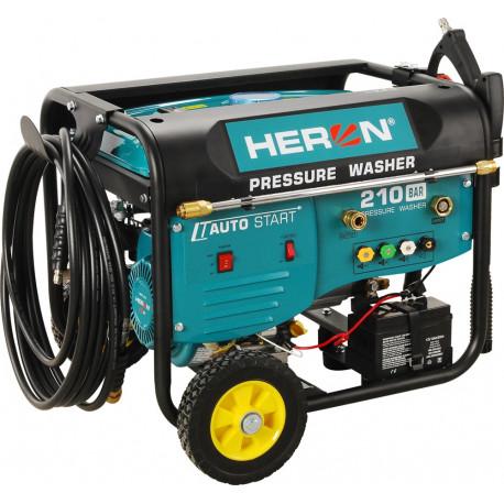 Heron benzinmotoros magasnyomású mosó, 6 LE, automata távindítóval, elektromos öninditóval