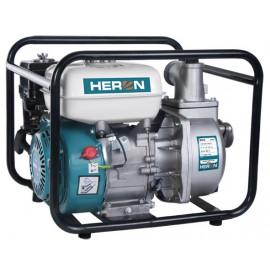 """Heron benzinmotoros vízszivattyú 5,5 LE,max.600l/min, max.7m szívómélység,max. 28m nyomómagasság, 50mm (2"""") csőátmérő (EPH-50)"""