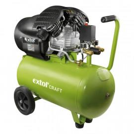 Extol olajos légkompresszor, 2200W, 50l tartály, 8 bar