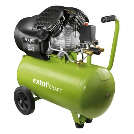 Extol olajos légkompresszor, 2200W, 50l tartály, 8 bar; 412l/min