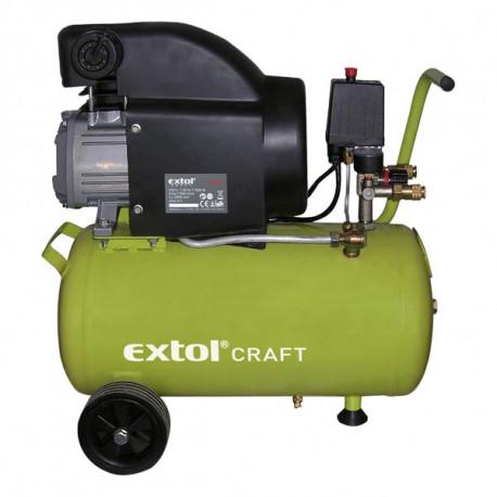Extol olajos légkompresszor, 1500W, 24l tartály, 8 bar