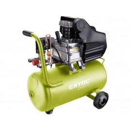 Extol olajos légkompresszor, 1100W, 24l tartály, 8 bar