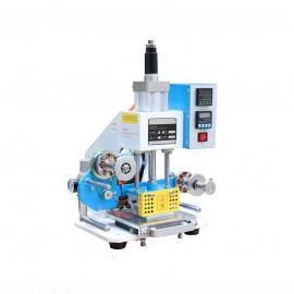 Automata prégelő, melegfóliázó (hot stamping) gép