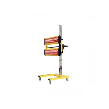 Infravörös festékszárító, infravörös szárítólámpa - 2200 W - 2 lámpa