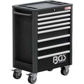 Műhelykocsi, szerszámos kocsi, szerszámos szekrény| 8 fiók | üres - BGS-4111