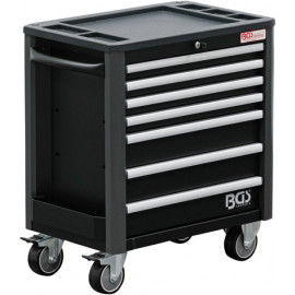 Műhelykocsi, szerszámos kocsi, szerszámos szekrény| 7 fiók | extra csekély szerkezeti magasság | üres - BGS-4102