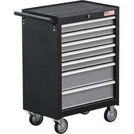 Műhelykocsi, szerszámos kocsi, szerszámos szekrény | 7 fiók | üres - BGS-2001