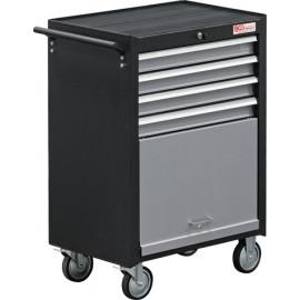 Műhelykocsi, szerszámos kocsi, szerszámos szekrény | 4 fiók | 1 polc - BGS-2004