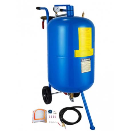 Mobil levegős homokfúvó,homokszóró - 75 liter - MHSZ-01