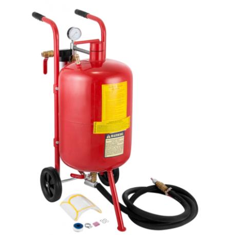 Mobil levegős homokfúvó,homokszóró - 40 liter - MHSZ-02