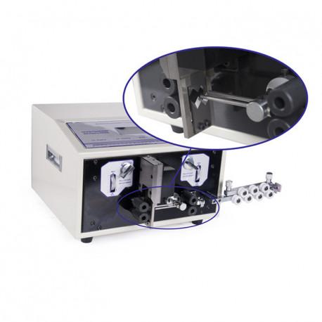 Automata kábelvágó és kábelnyúzó gép, dupla kábel feldolgozással