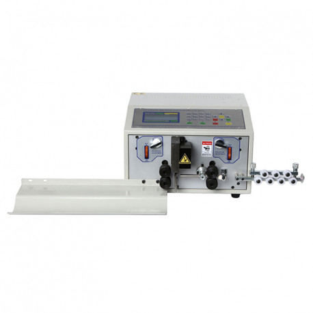 Automata egymagos kábelvágó és kábelnyúzó gép, 8mm2, max. 35mm nyúzási hossz