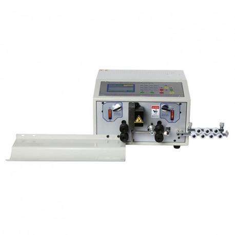 Automata egymagos kábelvágó és kábelnyúzó gép, 8mm2, max. 50mm nyúzási hossz