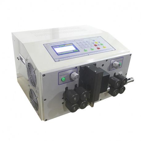 Automata kábelvágó és kábelnyúzó gép, ipari kábelekhez, max. 25mm2