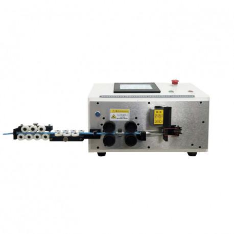 Automata kábelvágó, kábelnyúzó és kábelhajlító gép - 6mm2/100mm