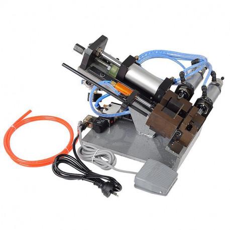Félautomata pneumatikus kábelnyúzó gép, max. 5mm átmérőhöz