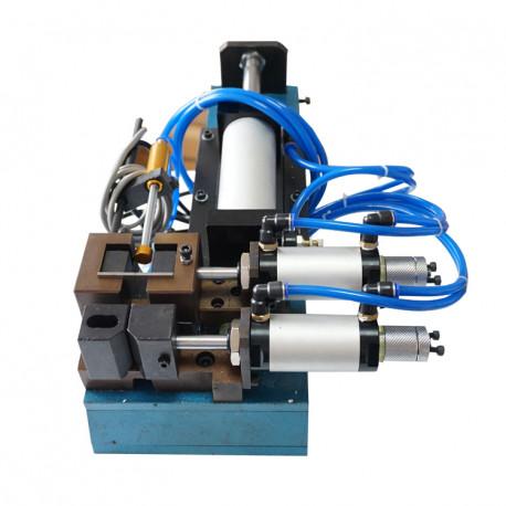 Félautomata pneumatikus kábelnyúzó gép, max. 15mm átmérőhöz