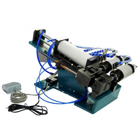 Félautomata pneumatikus kábelnyúzó gép, max. 20mm átmérőhöz