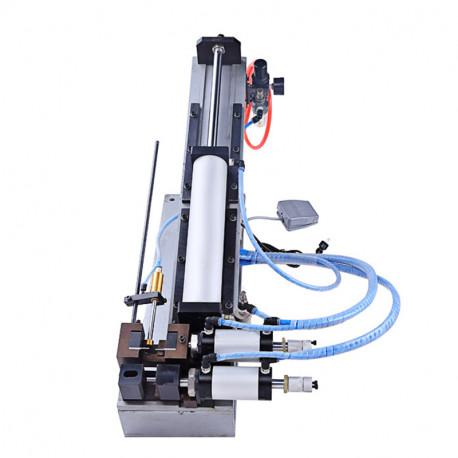 Félautomata pneumatikus kábelnyúzó gép, max. 20mm átmérőhöz, 330mm nyúzási hossz