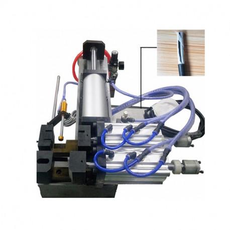 Félautomata pneumatikus kábelnyúzó gép, max. 30mm átmérőhöz