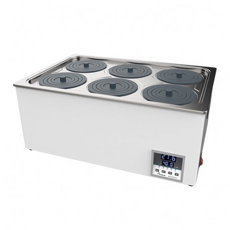 Laboratóriumi vízfürdő, laborfürdő - 6 férőhely - BHS-06